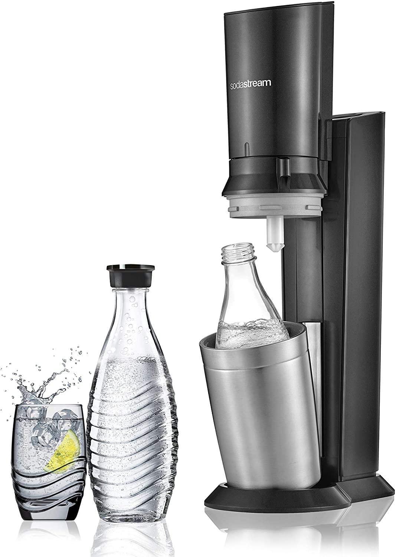 Pour mettre des bulles dans votre quotidien, le pack spécial Sodastream Crystal est au meilleur prix