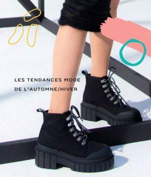 Les chaussures à plateforme massive