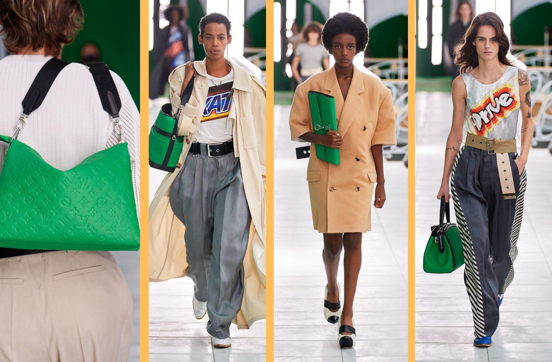 Défilé Louis Vuitton printemps-été 2021.