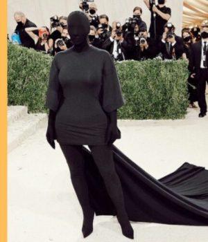 Kim Kardashian au Met Ball en fetishwear