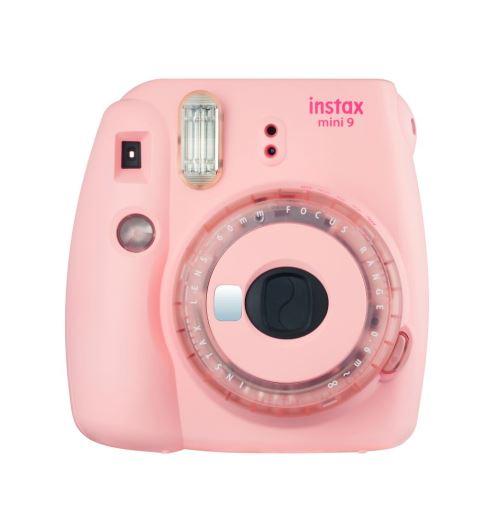 L'appareil photo instantané fera son grand retour à vos soirées avec l'Instax Mini 9 à -25%