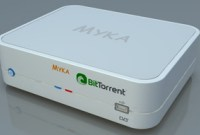 Myka, un media-center qui intègre BitTorrent