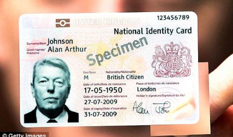 carte d identité anglaise La nouvelle carte d'identité britannique déjà piratée