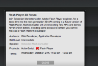 Adobe va mettre Flash Player à la 3D