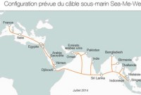 Orange signe un accord pour constuire le câble sous-marin Sea-Me-We 5