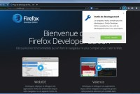 Firefox Developer Edition est disponible