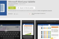 Office arrive sur les tablettes Android