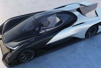 CES 2016 : chez Faraday Future on n'a pas de voiture, mais on a...