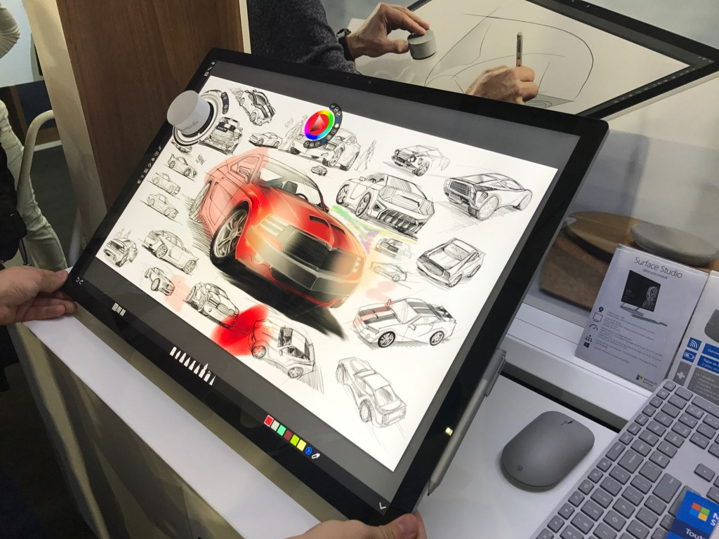 La Surface Studio Sera Lancée En France Le 15 Juin Business Numerama