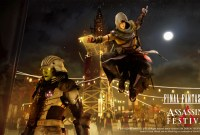 Toujours plus : un cross-over Final Fantasy XV et Assassin's Creed Origins annoncé