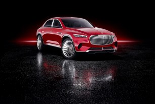 Vision Mercedes-Maybach Ultimate Luxury : ce SUV électrique grand luxe a un salon de thé