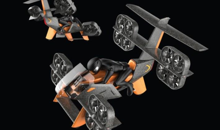 Voilà à quoi ressemblent les 10 voitures volantes sélectionnées par Boeing dans News Techno