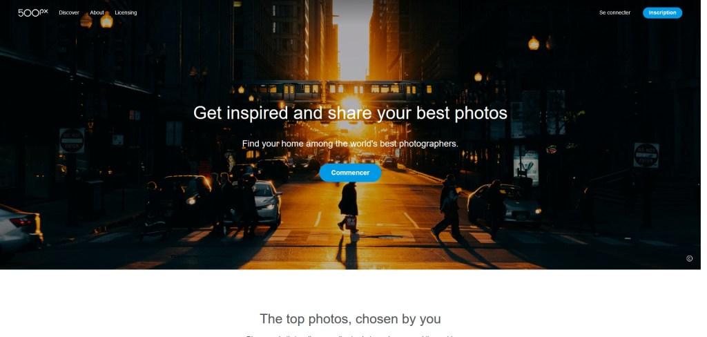 500px abandonne les photos en creative commons - business - numerama