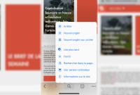 Google Chrome : comment activer la nouvelle interface Material Design sur iOS / ordinateur