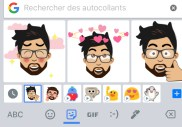 Google relance ses propres Bitmojis (attention les yeux)