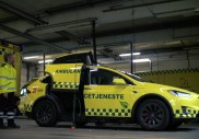 Pin-pon : le Tesla Model X peut devenir une ambulance