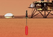 Pourquoi la mission InSight a du mal à enfoncer son thermomètre high tech dans le sol de Mars