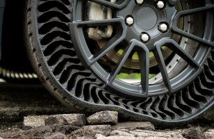Michelin vise 2024 pour des pneus sans air increvables