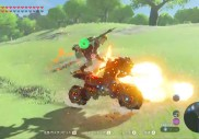 Zelda Breath of the Wild : un joueur a transformé la moto de Link en une arme de destruction surpuissante