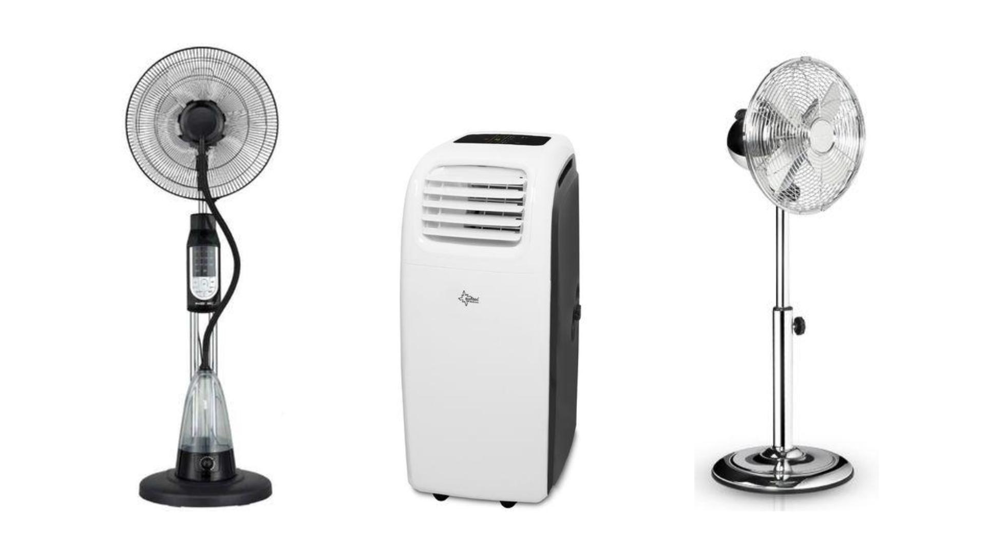 Soldes d'été : ventilateurs et climatiseurs en promotion