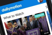 Dailymotion rénove son application sur Windows Phone