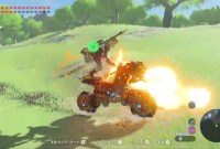 Zelda Breath of the Wild : un joueur a transformé la moto de Link...