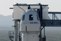 Regardez en direct l'ultime test de Blue Origin avant son tout premier vol habité...