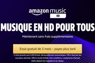 Amazon baisse le prix de son service Music HD pour faire face à la concurrence